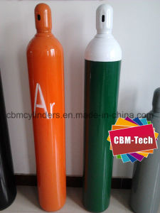 Seamless Steel Argon Helium CO2 Gas Cylinders 40 Liter pictures & photos