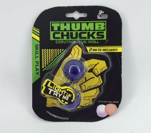 2017 Hottest Sale Fidget Thumb Chucks Finger Yoyo with LED pictures & photos