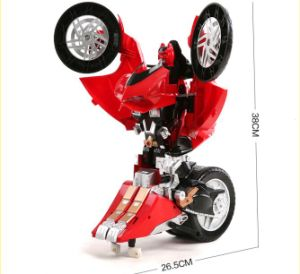 R/C Deformation Ducati Motorcycle (License) Car Toy pictures & photos