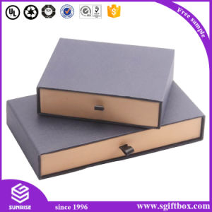 Luxury Custom Gift Cardboard Packaging Paper Drawer Box pictures & photos
