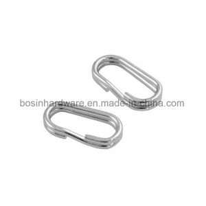Stainless Steel Fishing Oval Split Ring pictures & photos