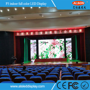 Indoor P3 Fixed Installation LED Display Panel for Advertising Use pictures & photos