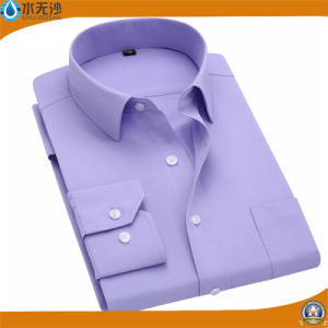 Factory 2017 Spring Men Cotton Dress Shirt Formal Business Shirt pictures & photos