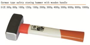 German Type Stoning Hammer with Wooden Handle pictures & photos