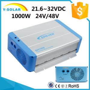 Shi-1000W-24V/48V-220V 21.6~32VDC RS485 Solar off Grid Inverter pictures & photos