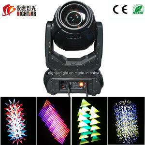 10r Sharpy 280W Moving Head Beam Gobo Light with Double Prisms Gobos Nj-B280A for DJ Disco Night Club Stage Lighting pictures & photos