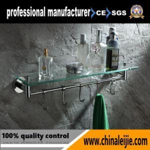 Elegant Design Glass Shelf for Bathroom Accessory pictures & photos