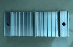 Sliver Anodized Aluminum/Aluminium Profile / Aluminum Extrusion pictures & photos