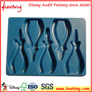 High Quality Blue Pet Plastic Tray for Pliers Tools pictures & photos