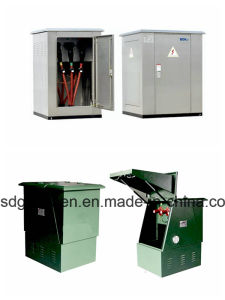 Fzx-01 Outdoor Water-Proof Low-Pressure SMC Glass Fiber Reinforced Polyester Power Distribution Cable Branch Box pictures & photos