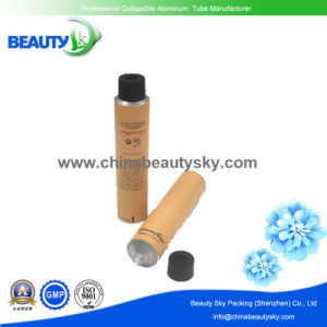 5c Offset Printing on Metal Cosmetic Tubes with Plastic Lids pictures & photos