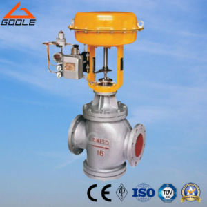 Pneumatic Double Seated Pressure Regulating Valve (GAZJHN) pictures & photos