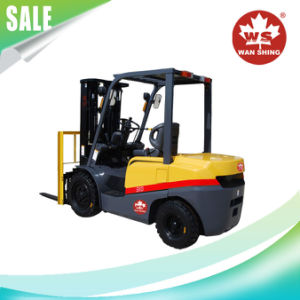 Cheap3.0t Lifting Height 3m Gasoline Forklift Truck Fg30 pictures & photos