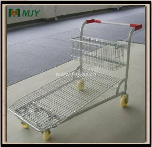 Warehouse Platform Trolley Mjy-M12 pictures & photos
