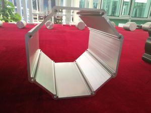 Customized Large Section 100-550mm Aluminum/Aluminium Extrusion/Extruded Profile pictures & photos