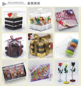 Wholesale Clear Gift Packing Box with printing made in China pictures & photos