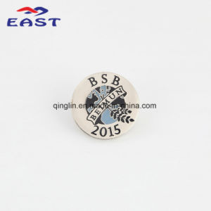 Enamel Round Shape Metal Badge and Lapel Pin for Souvenir Gift pictures & photos