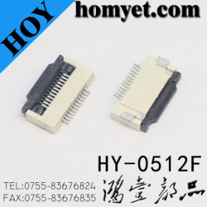 0.3mm/0.5mm/1.0mm Pitch FPC Connector (HY-0554F) pictures & photos