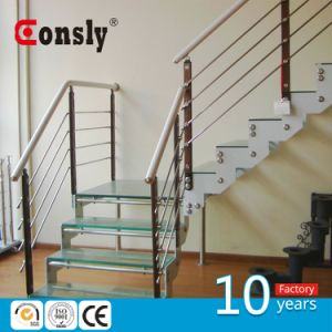 Indoor Stainless Steel Staircase Railing Balustrade Post System pictures & photos