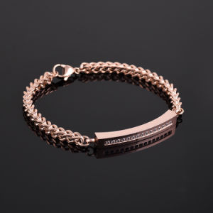 Stainless Steel Chain Bracelet Women′s Memory Ash Urn Bracelet pictures & photos