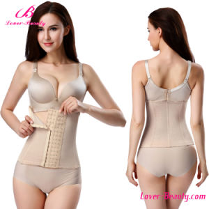 Factory Price Nude 6 Hooks Waist Trainer Corset pictures & photos