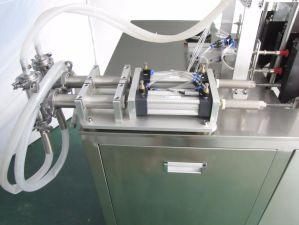High Speed Multi Function Four Head Mask Filling Sealing Machine pictures & photos