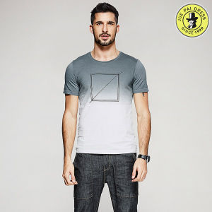 Wholesale Latest Design OEM 100% Cotton Summer Shirts for Men Short Sleeve T-Shirt pictures & photos