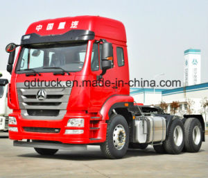 SINOTRUK 6X4 MAN Engine tractor truck pictures & photos