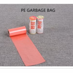 Recycle 13 Gallon Trash Bag Embossed Disposable Garbage Bag pictures & photos