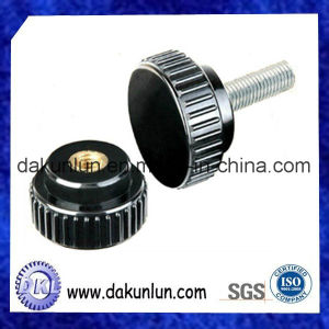 Plastic Knurled Thumb Screw, Male and Female Screw (DKL-S016) pictures & photos