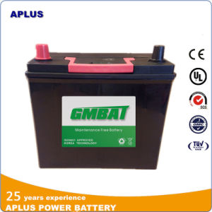 Maintenance Free Lead Acid Car Battery N40L 12V40ah JIS Standard pictures & photos