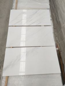 Natural Stone Customized Size Eastern White Marble Slab/Tile for Floor, Kitchen, Countertop pictures & photos