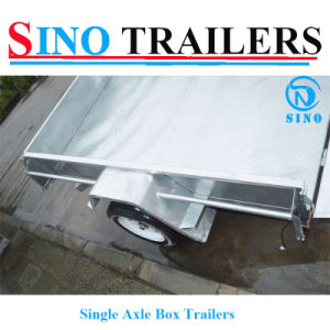 Fully Welded Box Trailer pictures & photos