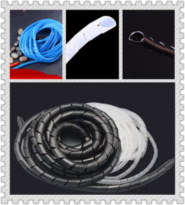 Polyethylene Spiral Cable Wire Wrap Tube pictures & photos