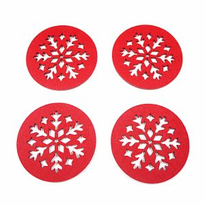 100% Polyester Coaster for Cups & Christmas Decorations pictures & photos