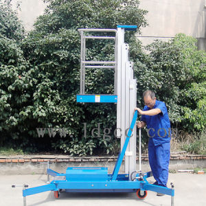 4meters Aluminium Hydraulic Aerial Work Platform (GTWY4-100) pictures & photos