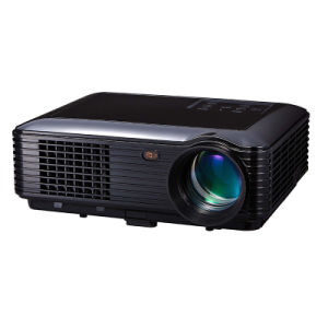 Panama Christmas Gift Cheap LED 3D Projector with HDMI Slot & Home Theater System Projectors for Sale pictures & photos