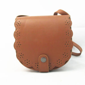Cut out Design Fashion PU Messenger Bag pictures & photos