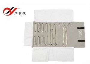 Multifunctional Jewelry Roll Bag Jewelry Pouch pictures & photos