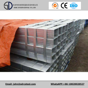 Q235 Hot Dipped Galvanized Square Steel Pipes for Chemical Industry pictures & photos