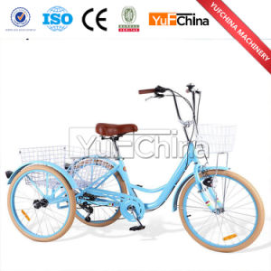 Adult Tricycle with Back Basket / Adult Pedal Tricycle for Sale pictures & photos
