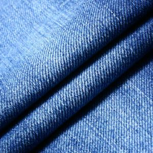 100% Twill Cotton Denim Fabric for Jeans pictures & photos