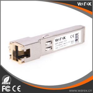 Cisco Compatible GLC-T-C 1.25g 10/100/1000BASE-T SFP Auto Negotiation Copper RJ-45 100m Transceiver pictures & photos