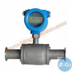 Ss Ti Material Sanitary Type Electromagnetic Flow Meter pictures & photos