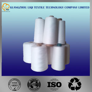 Raw White Color 100% Polyester Sewing Thread for Shirts and Bags pictures & photos