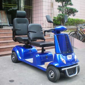 Electric Double Seats Mobility Scooter (DL24800-4) with Ce pictures & photos