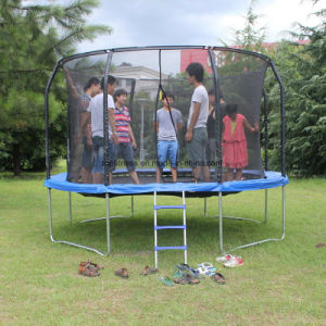 Different Sizes Round Trampoline with Safety Net pictures & photos