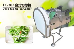 2017 FC-302 Desktop Spring Onion Ring Cutter Pepper Ring Cutting Machine Celery Leek Cutter pictures & photos