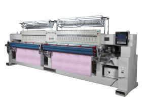 High Speed Computerized Quilting Embroidery Machine with 44 Heads pictures & photos