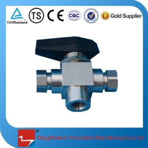 3 Ways Ball Valve for CNG pictures & photos